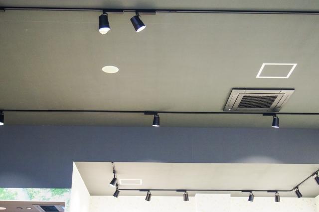 天井に隠しカメラ