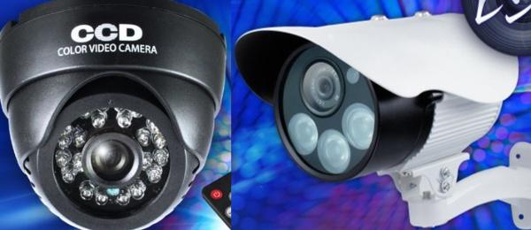 隠しカメラと監視カメライメージ